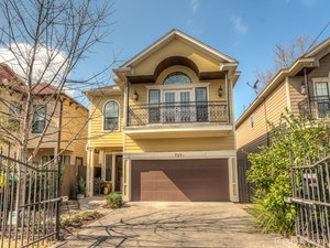 Houston Heights  Home, TX Real Estate Listing